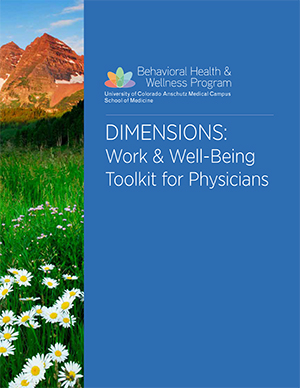 Physician Wellness Toolkit